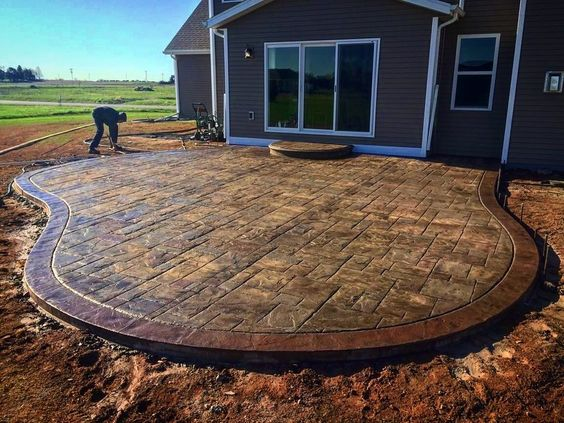 best concrete stamps for patio